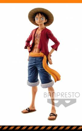 Figurine Monkey D. Luffy Banpresto