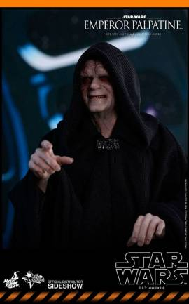 Figurine Empereur Palpatine Hot Toys