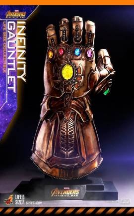 Infinity Gauntlet 1/1 Hot Toys