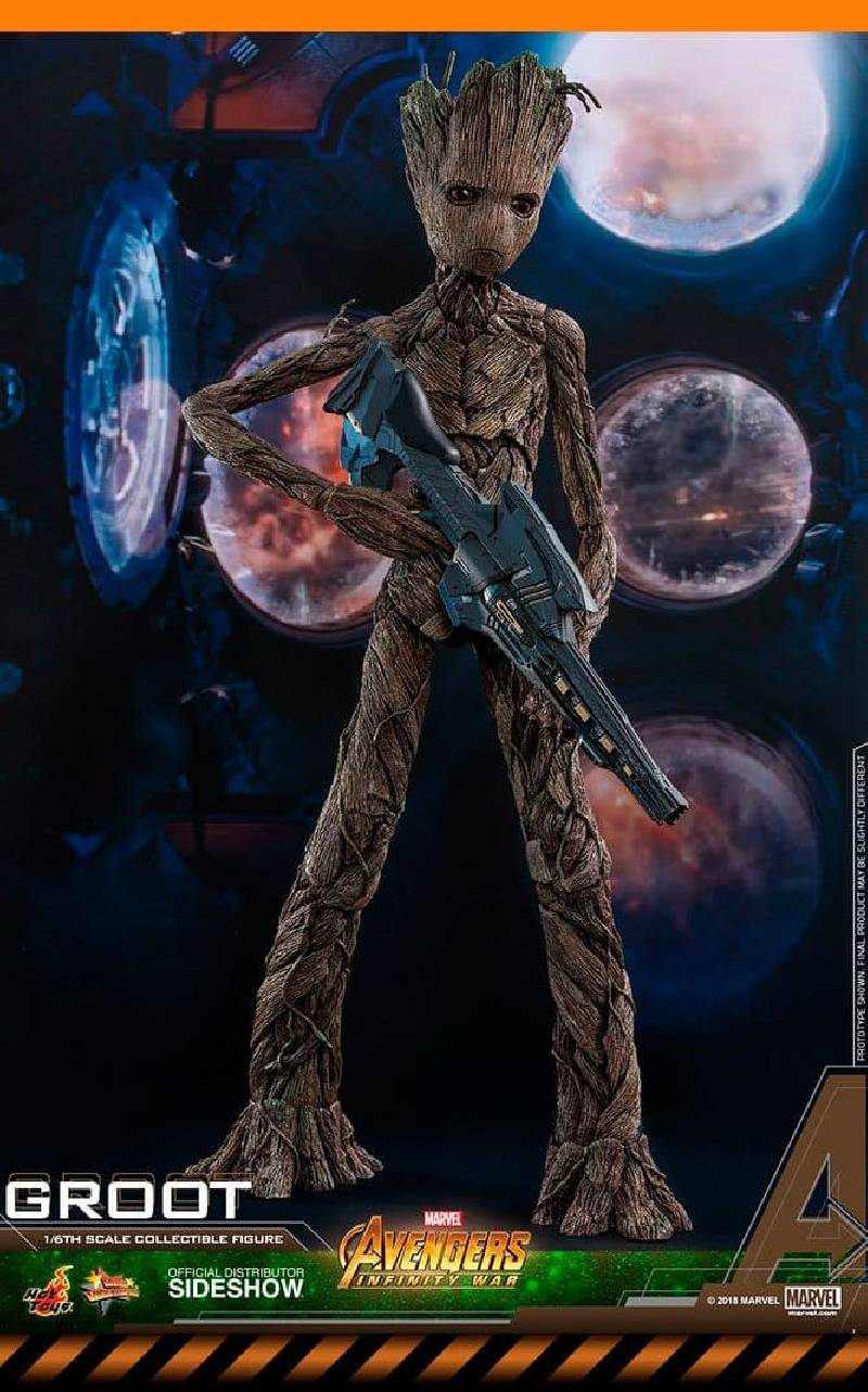 Figurine Groot Hot Toys