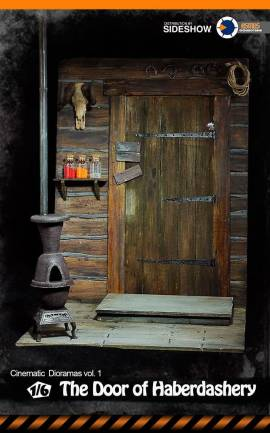 Diorama The Door of Haberdashery Asmus Toys