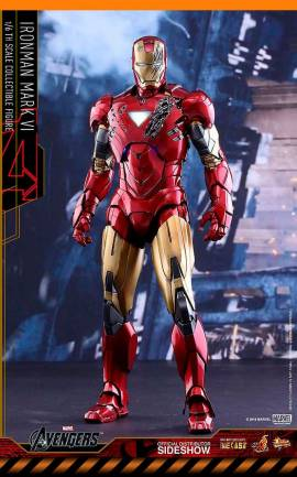 Figurine Iron Man Mark VI Hot Toys