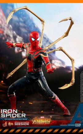 Figurine Iron Spider Hot Toys