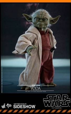 Figurine Yoda Hot Toys