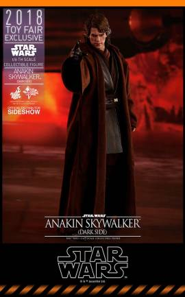 Figurine Anakin Skywalker Dark Side Hot Toys
