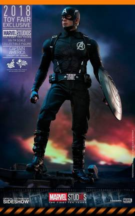 Figurine Captain America Concept Art 2018 Hot Toys