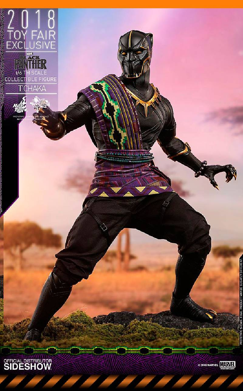 Figurine T'Chaka 2018 Toy Fair Exclusive Hot Toys