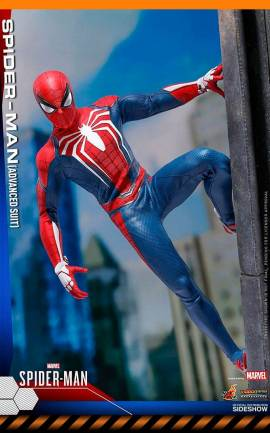 Figurine Spider-Man Advanced Suit Hot Toys