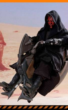 Figurine Darth Maul & Sith Speeder Hot Toys