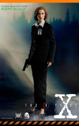 Figurine Agent Scully ThreeZero