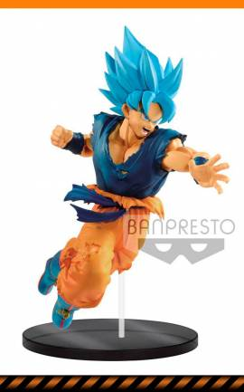 Figurine Son Goku Super Saiyan God Banpresto