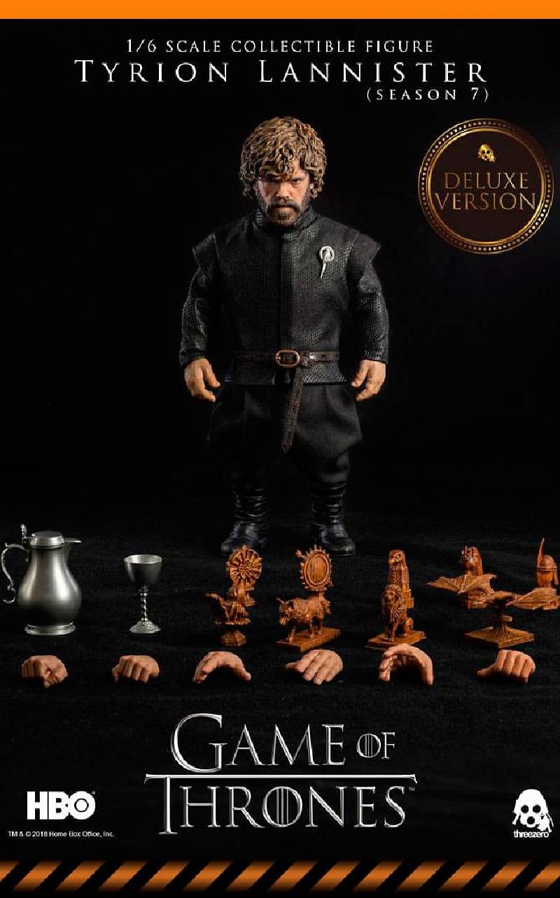 Figurine Tyrion Lannister Deluxe Version ThreeZero