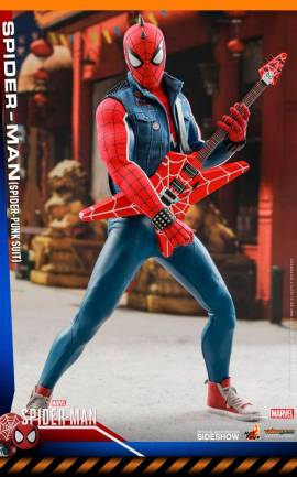 Figurine Spider-Punk (sans sur-carton beige) Hot Toys