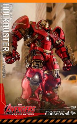 Figurine Hulkbuster Deluxe Ver. Hot Toys