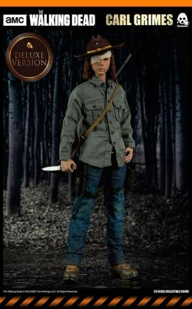 Figurine Carl Grimes Deluxe Version ThreeZero
