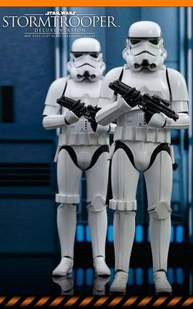 Figurine Stormtrooper Deluxe Version Hot Toys