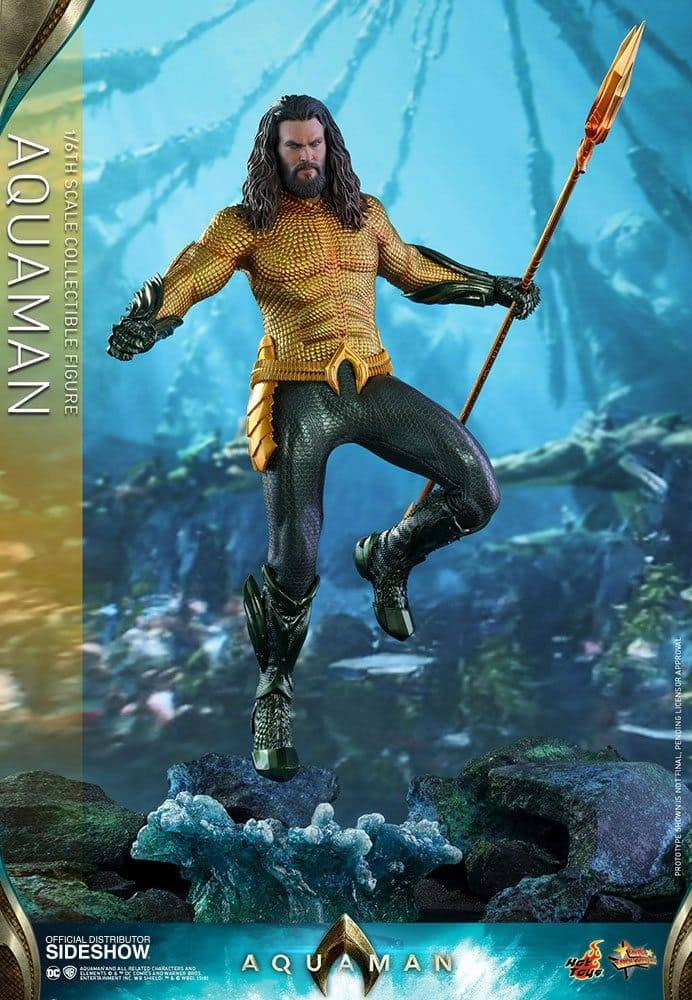 Hot Un Stock >> Figurine Aquaman Hot Toys